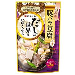 だしが世界を旨くする白湯風豚バラ豆腐の素30ml×2袋