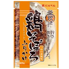 しっとりソフトふりかけ 鶏そぼろ【つゆの素風味】 30g