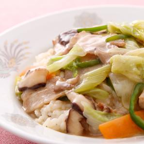 野菜たっぷり中華丼