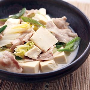 豚バラ豆腐