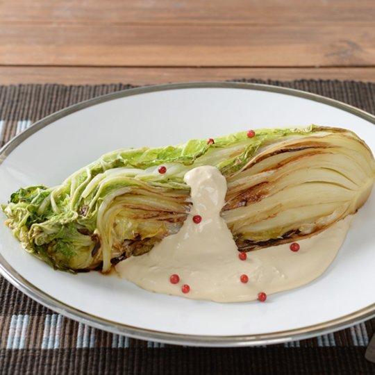 ステーキ 白菜